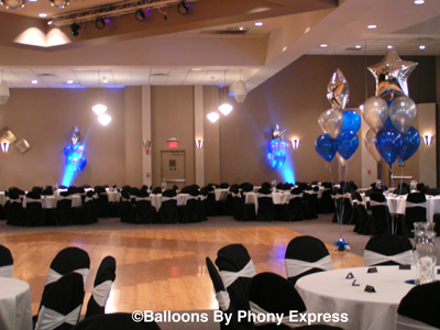 phony express lighting balloon drops special effects