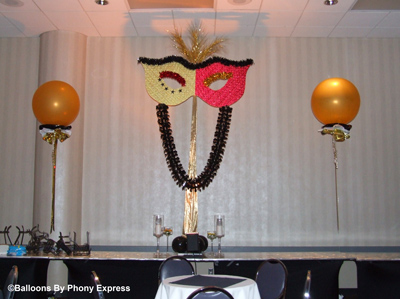 Phony Express Mardi Gras Theme